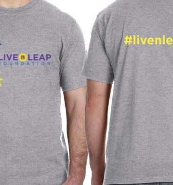 Live n Leap T-shirt (Gray)